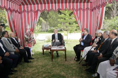 نتيجة بحث الصور عن الزعيم صالح يستقبل عبده بورجي
