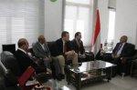الزعيم يستقبل المدير الإقليمي للجنة الدولية للصليب الأحمر للشرق الأدنى والشرق الأوسط