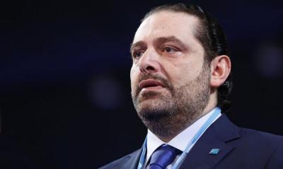 الحريري يعلن من بيروت تراجعه عن الاستقاله
