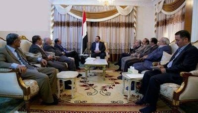 رئيس المجلس السياسي يُشيد بالدور الوطني لقيادة واعضاء مجلس الشورى