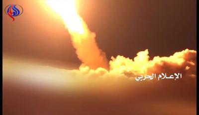 صاروخان باليستيان على ميناء أرامكو بجيزان