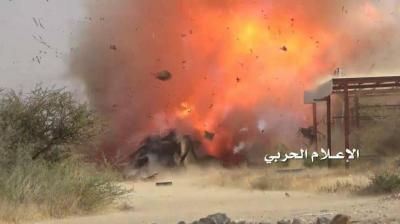 قوات الجيش اليمني تواصل قصف مواقع العدو ومرتزقته