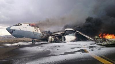 3 مليارات دولار خسائر إغلاق مطار صنعاء