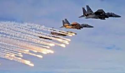 6 غارات على صعدة وحجة .. طيران العدوان يقصف الحديدة
