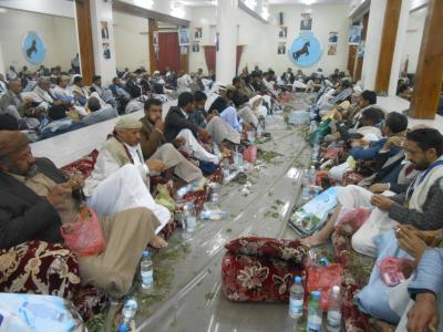 الأمين العام يُشيد بمؤتمريي صنعاء ويؤكد أن الوحدة خط أحمر ومصيرها بيد الشعب اليمني