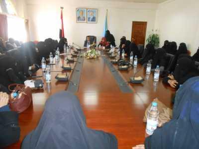 الامين العام يرأس اجتماعا لقيادات المؤتمر النسوية بمحافظة صنعاء