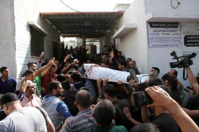 إستشهاد وإصابة 90 فلسطيني في عدوان اسرائيلي على غزة