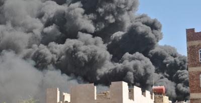 9 غارات للعدوان على صنعاء وصعدة وجيزان