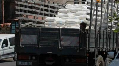 اليمن.. ضبط 6 شاحنات أممية تحمل طحين فاسد