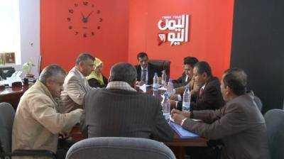اعلامية المؤتمر تعبر عن استيائها من ايقاف بث قناة اليمن اليوم