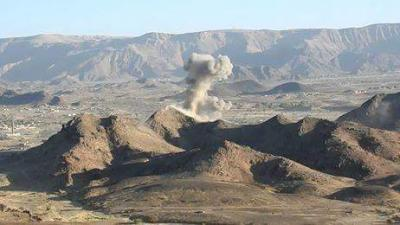 طيران العدوان يقصف 4 محافظات بـ27 غارة