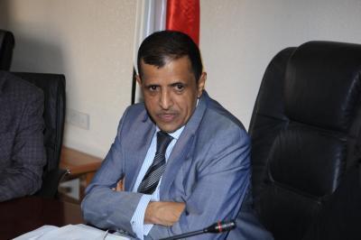 الأمين العام يعزي بوفاة القيادي المؤتمري الشيخ محمد الحارثي