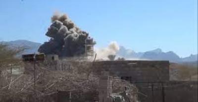 العدوان يشن 18 غارة على محافظة مأرب