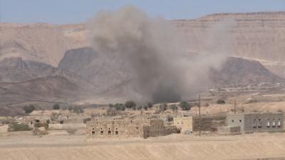 طيران العدوان يشن 7 غارات على محافظة مأرب