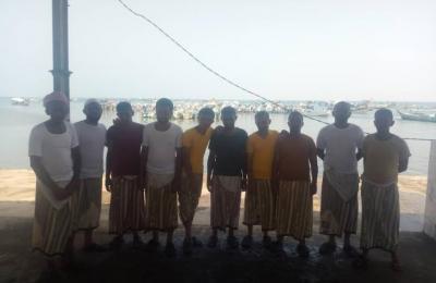 عودة 12 صياداً يمنياً بعد احتجازهم لعامين في السعودية